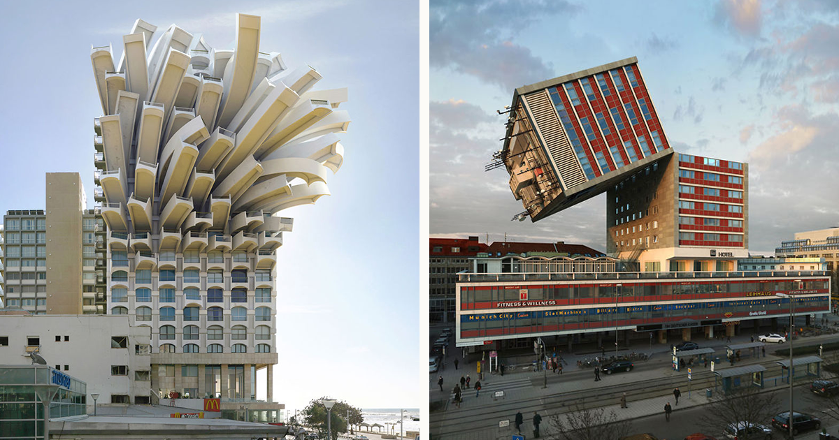 Потрясающая архитектура Виктора Энрича