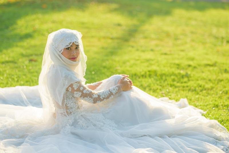свадебное платье а силуэт кружево