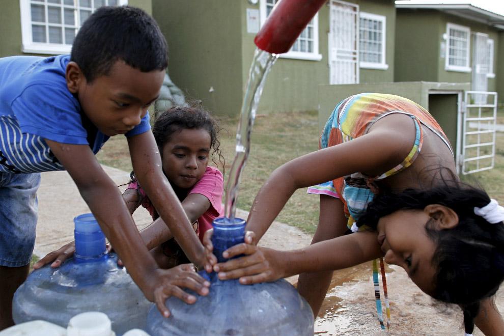 Развоз питьевой воды по домам в Панаме