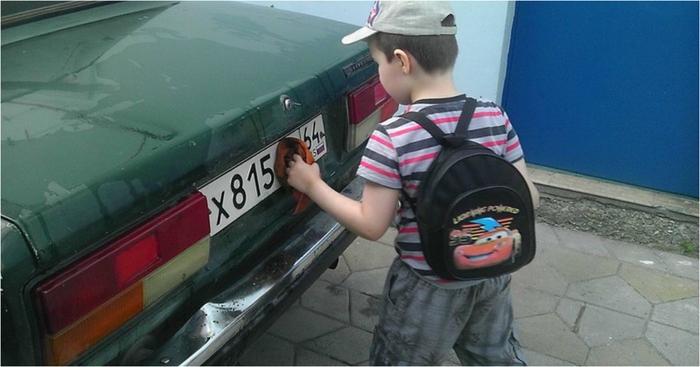 И если к вам на парковке подойдёт похожий мальчишка, вспомните данную историю