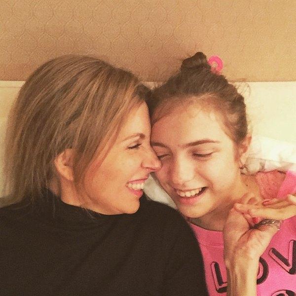 Светлана Бондарчук смладшей дочерью