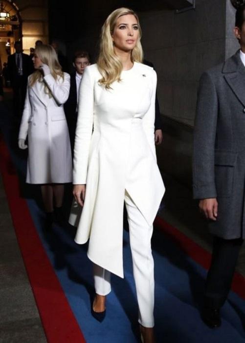 Иванка Трамп рекомендует выбирать total white