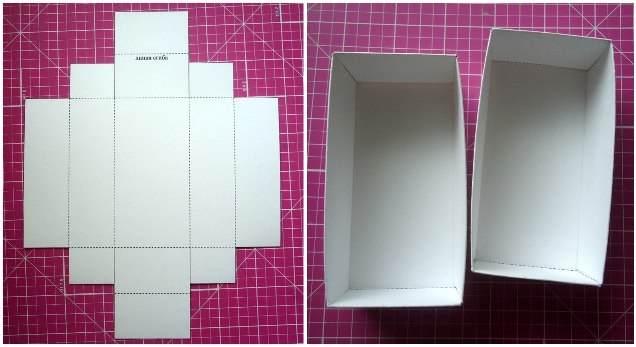 Как сделать шкатулки из бумаги своими руками
