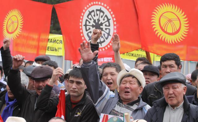 Киргизия готовится к Майдану