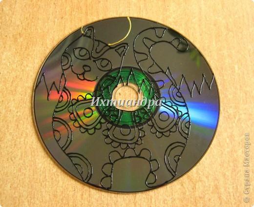 Шаблоны рисунки на дисках своими руками