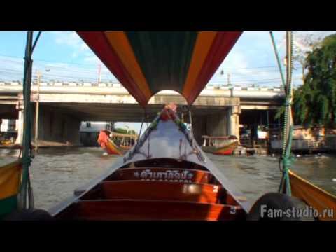 Бангкок - на лодке по каналам! (клип)