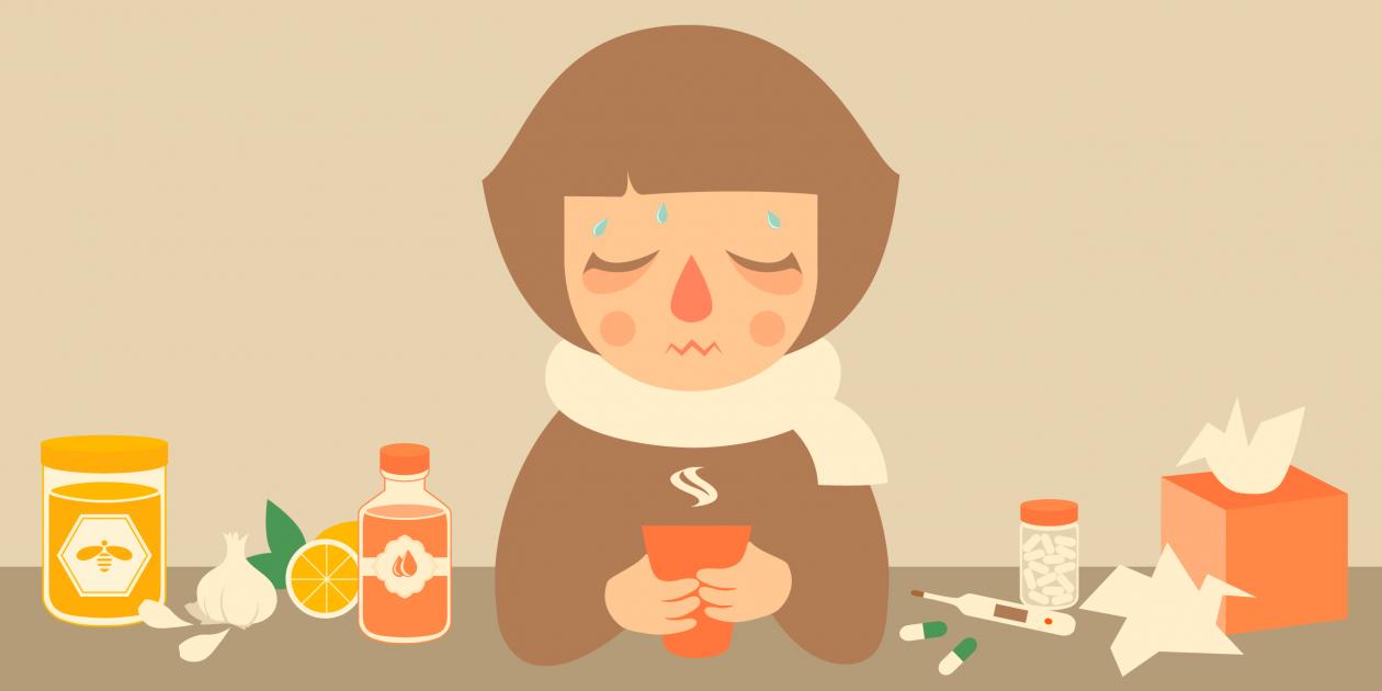 Здравотдел. Эффективные домашние средства от простуды