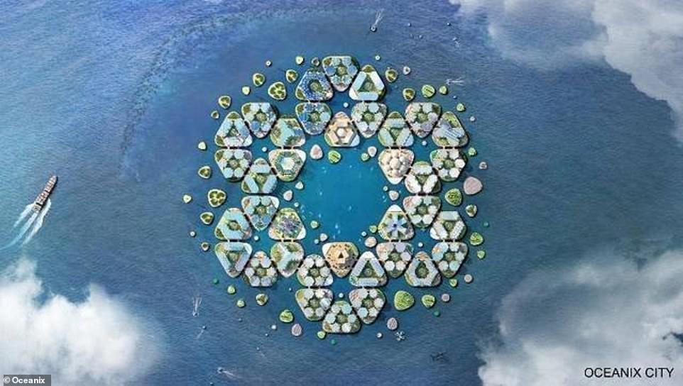 На волнах будущего: плавающие города сохранят прибрежные селения от наводнений
