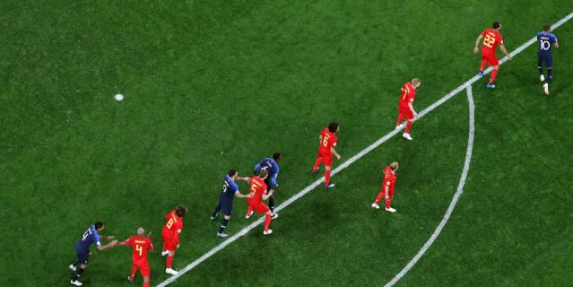 Франция вышла в финал, Бельгия едет домой: самые яркие фото