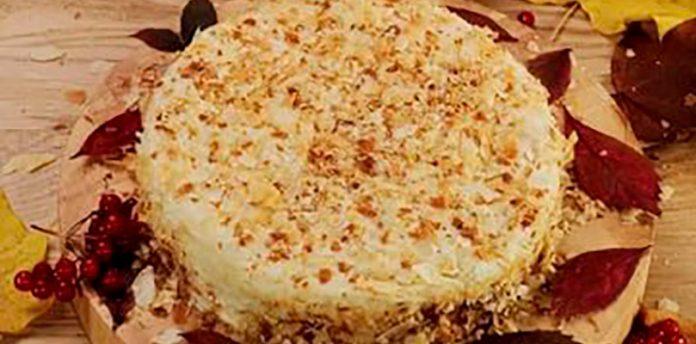 Ленивый наполеон, который готовится всего за 20 минут! Теперь это коронное блюдо!