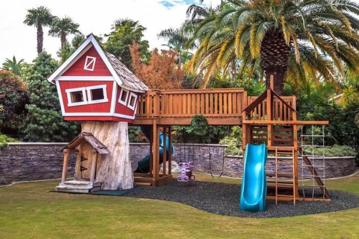 Иметь свой домик на дереве — мечта любого ребёнка.