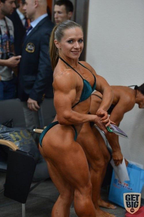 Киевский чемпионат бодибилдерш