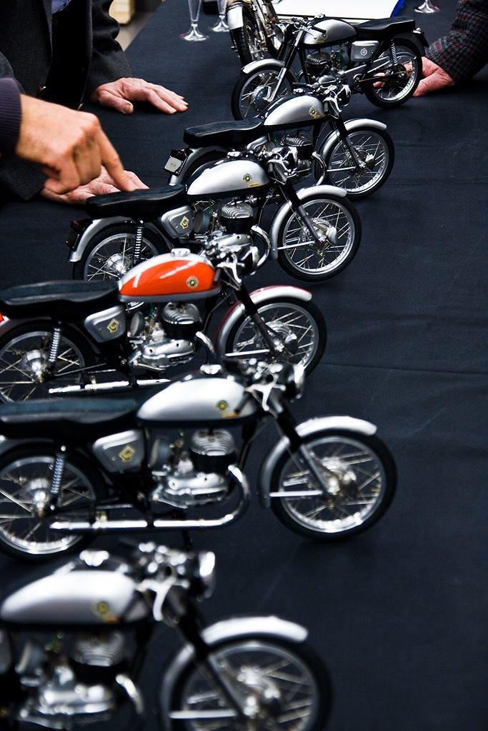 Пере Тарраго - модельки мотоциклов