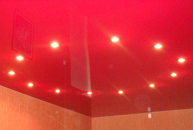 варианты двухуровневых потолков