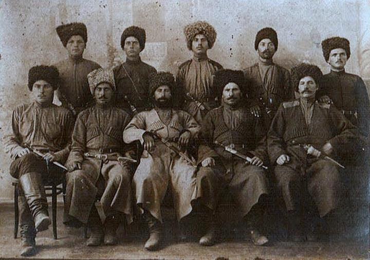 Первые русские спецназовцы