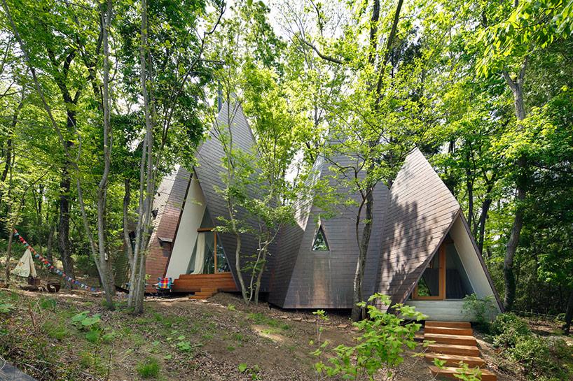 Необычный лесной домик