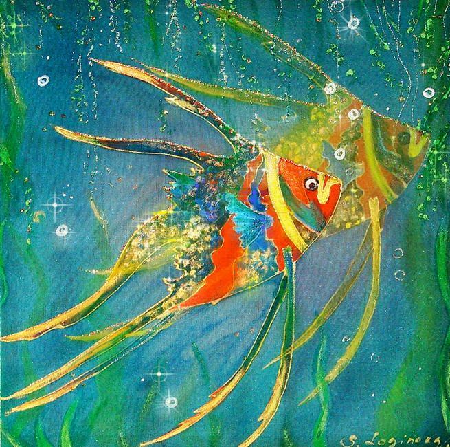 Логинова Светлана. Задумчивые рыбки