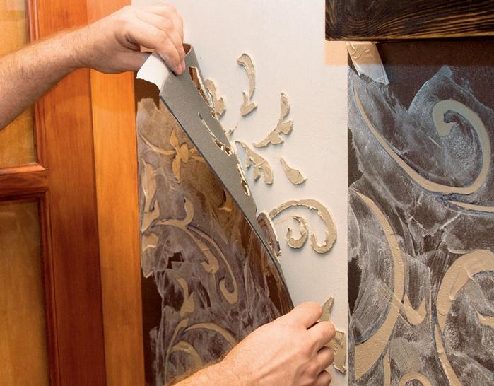 Декорируем стены объемной отделкой (2) (700x546, 409Kb)
