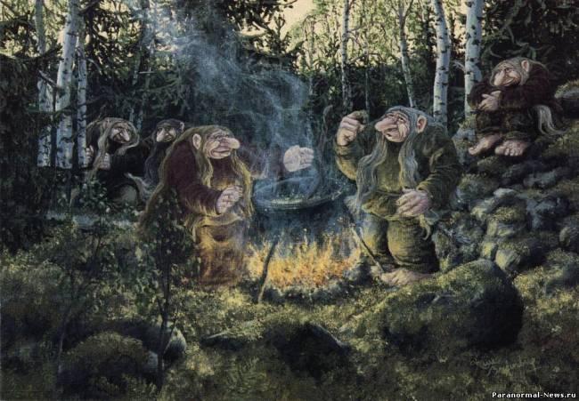 Ужасные тролли Скандинавии