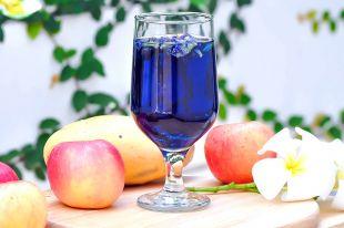 Как делают синее вино?