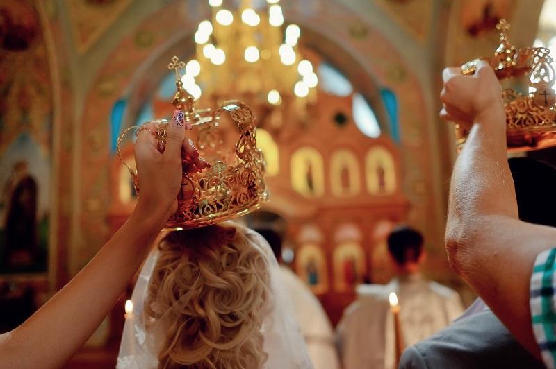 Как проходит обряд венчания