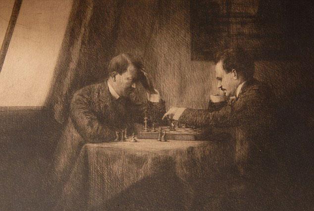 Ленин и Гитлер играли в шахматы в 1909 году?