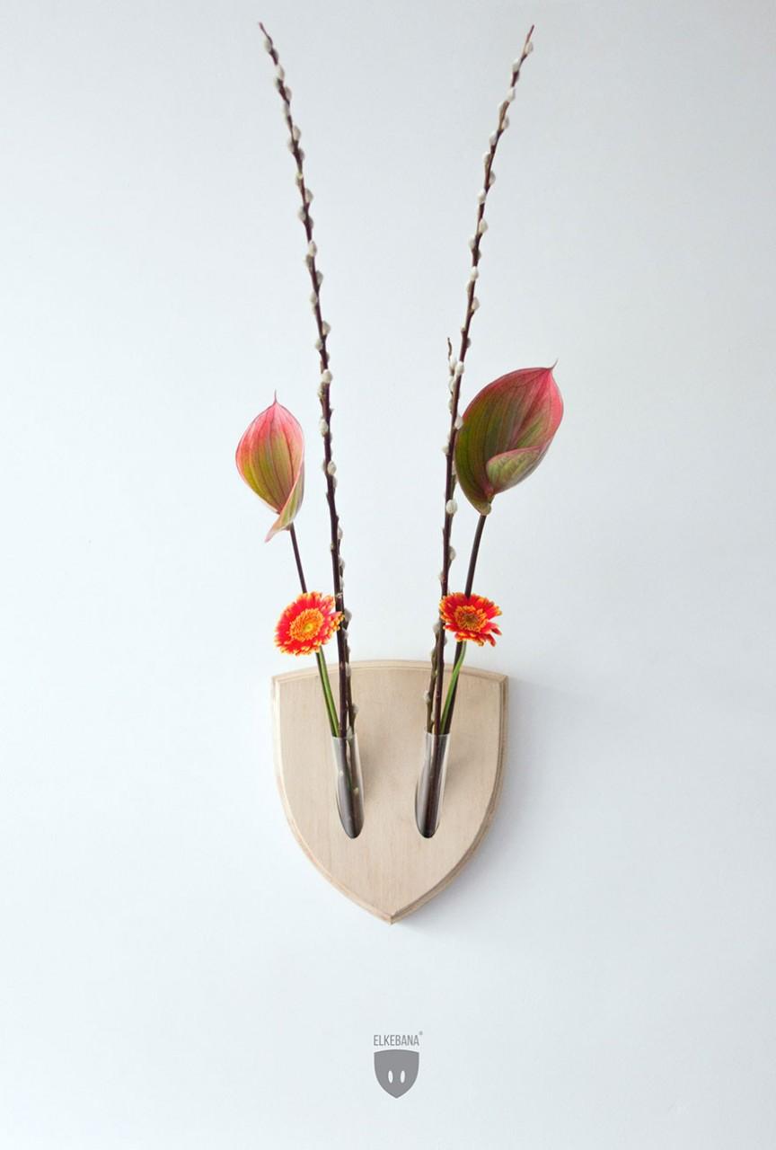 Трофеи из растений.Необычная идея!