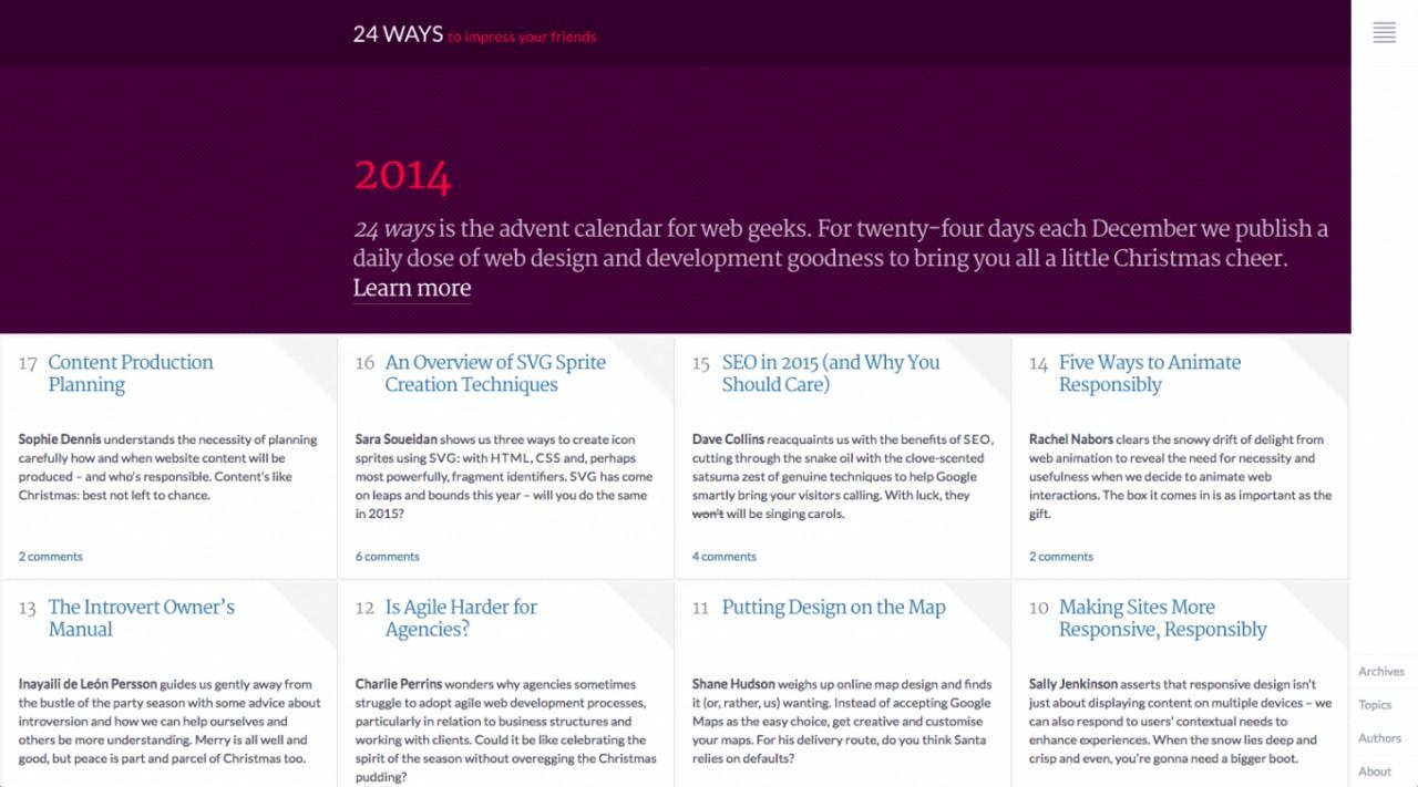 10 трендов веб-дизайна 2015 года