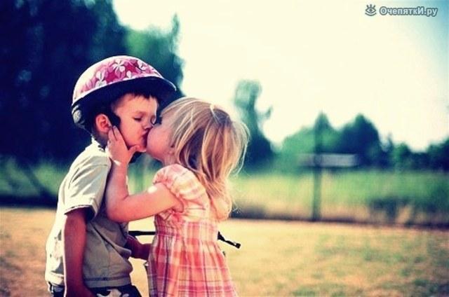 Фото девочки и мальчика на аву в вк