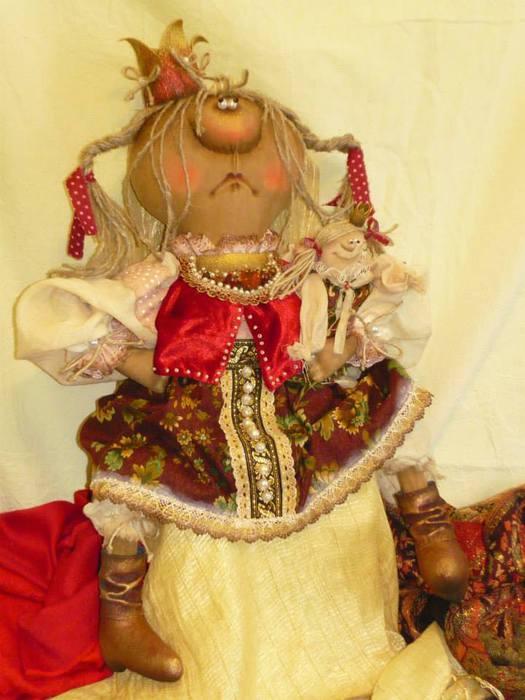 Озорные куклы Татьяны Козыревой