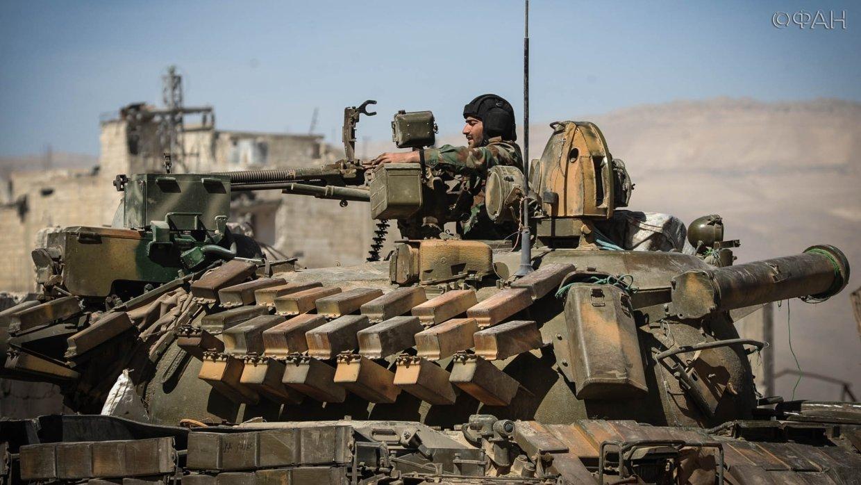 Сирия: позиции правительстве…