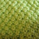 Узор Столбики (уроки вязания спицами)