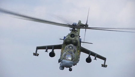 Вскрыть и уничтожить: как Ми-24 помогает уничтожать террористов ИГ в Сирии