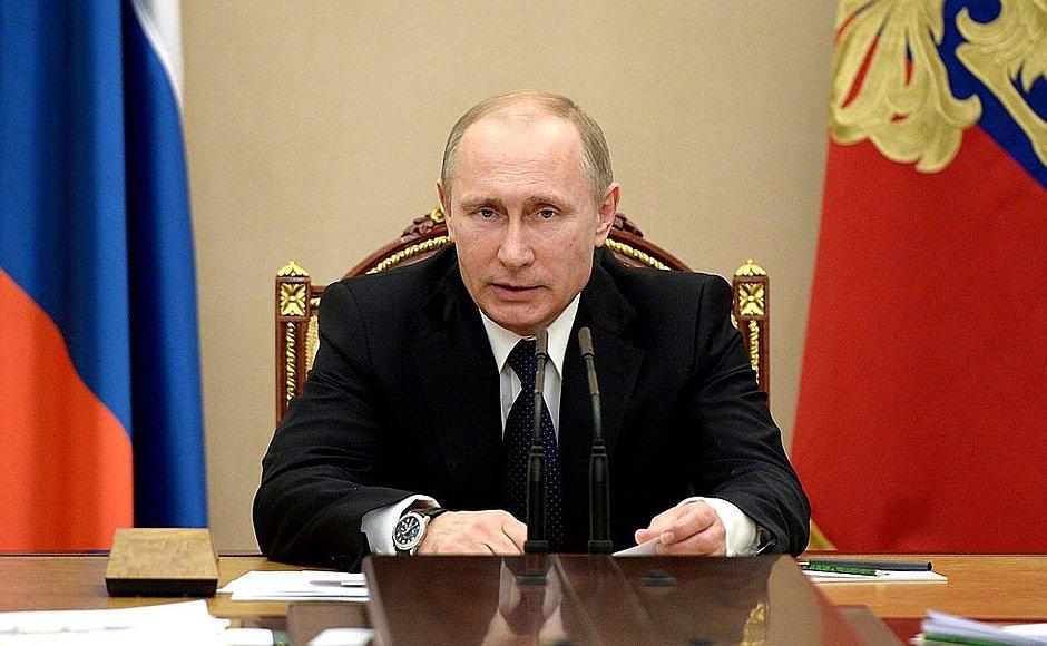 Совбез РФ: заявление Путина, причины и последствия санкций, предпринятые меры