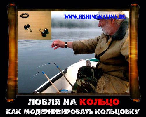 ловля леща на кольцовку кольцо