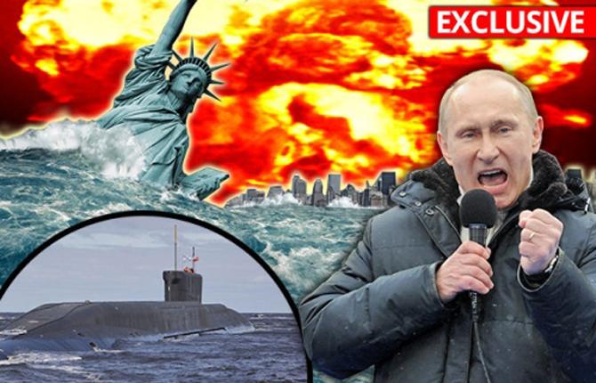 «Daily Star»,США: Русское атомное ЦУНАМИ: Путинские подводные лодки закладывают глубоководные бомбы, готовые уничтожить США