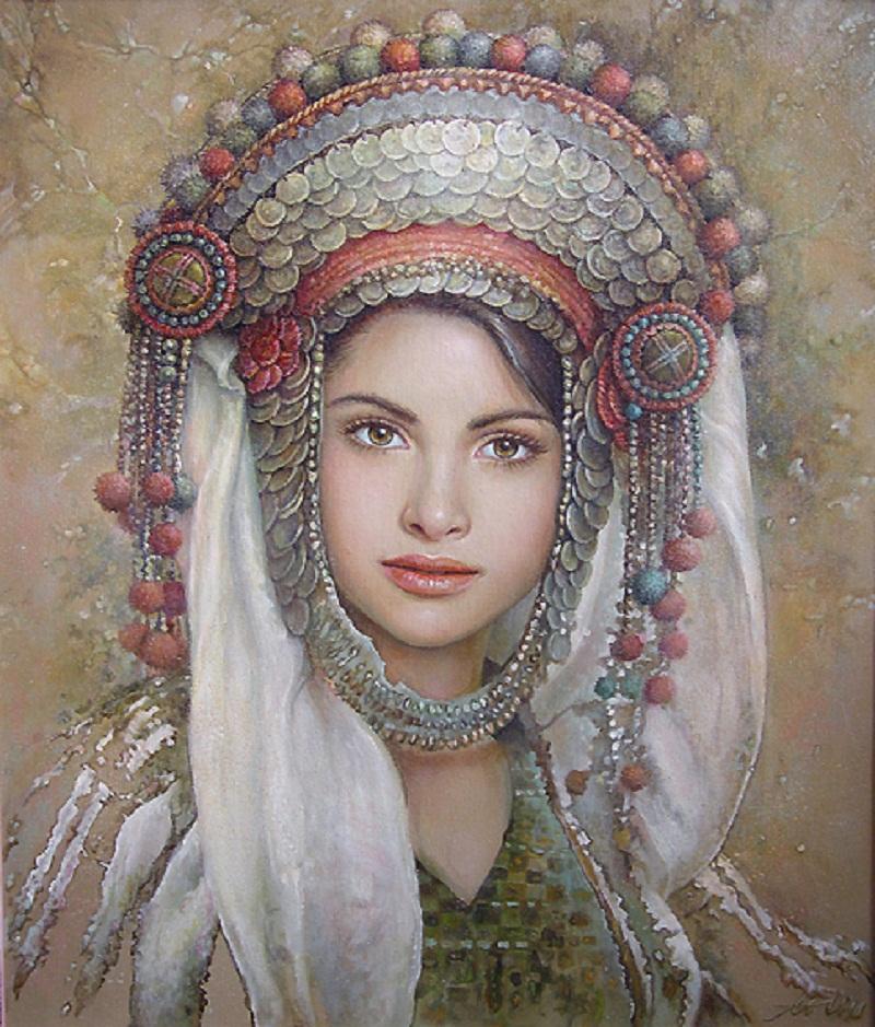 Чистейшая прелесть женских портретов кисти художницы Марии Илиевой (Maria Ilieva)