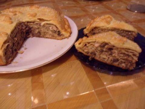 СКОРО МАСЛЕНИЦА! Блинчики с начинкой, блинчатые пироги, курники, кулебяки. (Подборка рецептов)