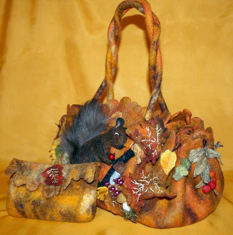 Необычный фелтинг. сумки и аксессуары