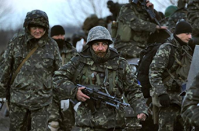 Взвод ВСУ встал на защиту Донбасса