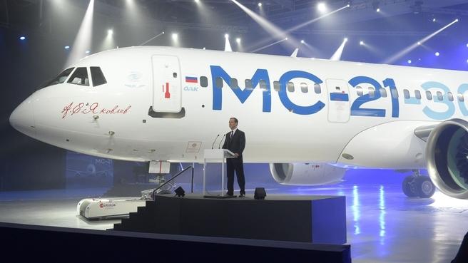 Из-за санкций МС-21 может ос…