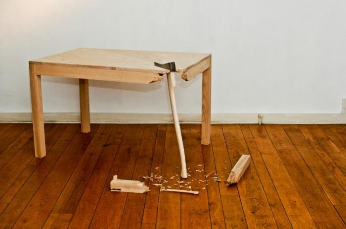 Как сделать ножки стола под углом