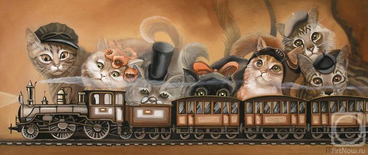 Коты и кошки Надежды Соколовой