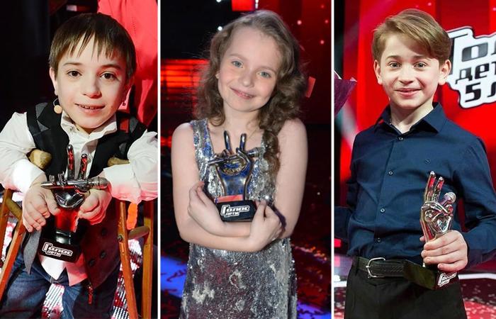 Как сложились судьбы победителей вокального шоу «Голос. Дети»