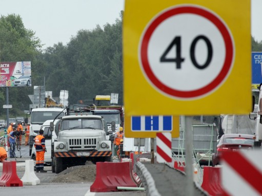 В Ленинградской области скорость движения в населенных пунктах зимой снизят до 40 км/ч