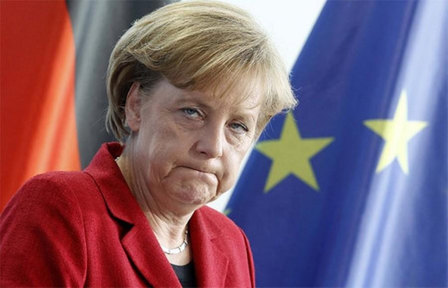 А Меркель-то оказывается - обо...сь!