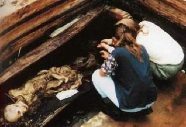 Археологи раскопали женщину славянской внешности, возраст которой миллион лет