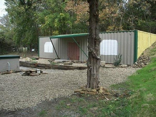 Жилой дом из двух контейнеров дом, контейнер