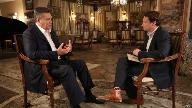 Янукович: если бы я не уехал, война шла бы по всей Украине
