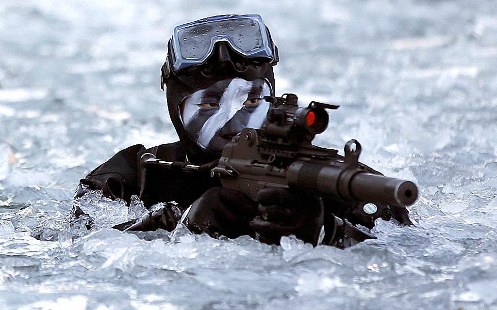 Зимние учения южнокорейского спецназа-3